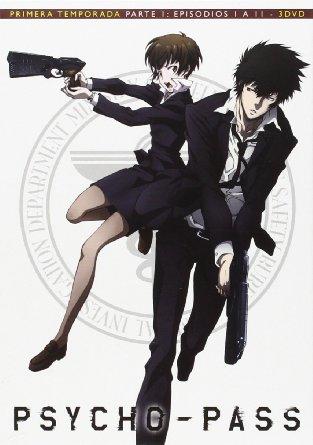 Carátula DVD de la serie Psycho-Pass