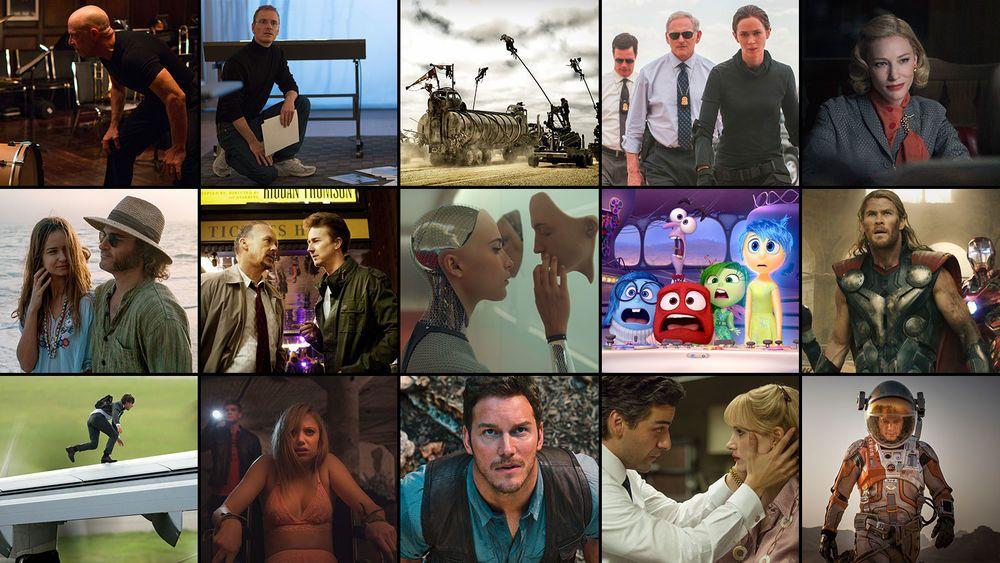 Todas las películas de 2015