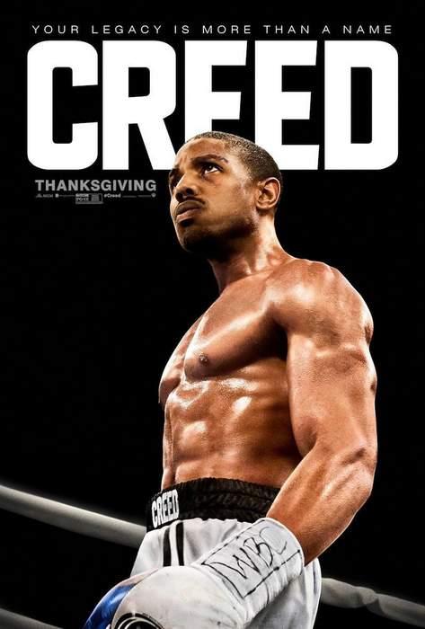 Póster de Creed. La leyenda de Rocky