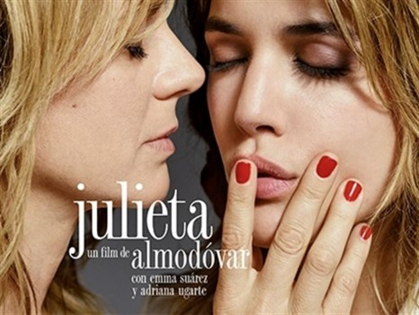 Cartel Julieta de Pedro Almodóvar