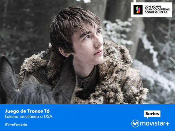 Primer capítulo de la sexta temporada de Juego de tronos en Canal + Series