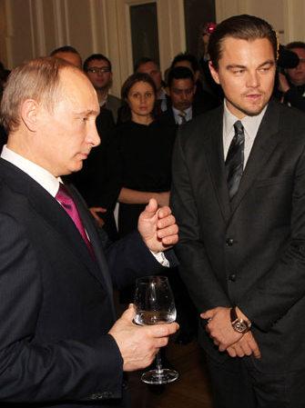Leonardo DiCaprio será Vladimir Putin