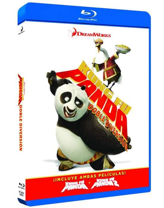 Carátula Kung Fu Panda Colección Completa