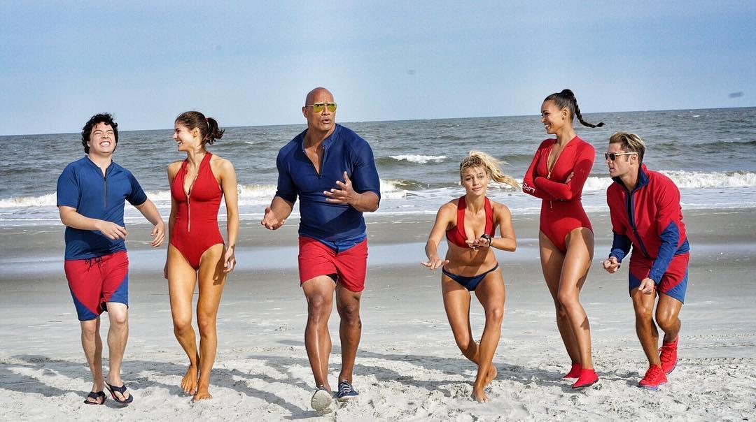 Imagen de los nuevos Vigilantes de la Playa