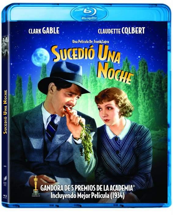 Carátula Blu-ray de Sucedió una noche