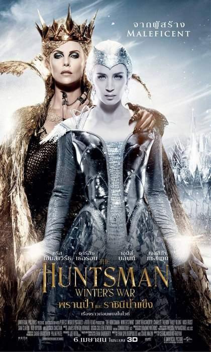 Póster de Las Crónicas de Blancanieves: El Cazador y la Reina de hielo
