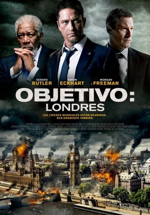Póster de Objetivo: Londres