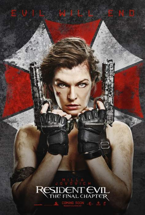 Póster de Resident Evil 6: El Capítulo Final