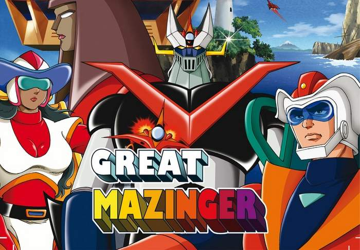 Great Mazinger en Blu-ray