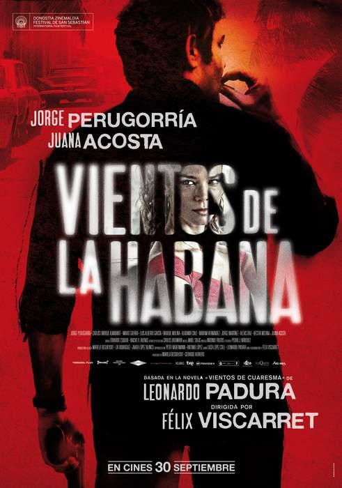 Póster de Vientos de la Habana