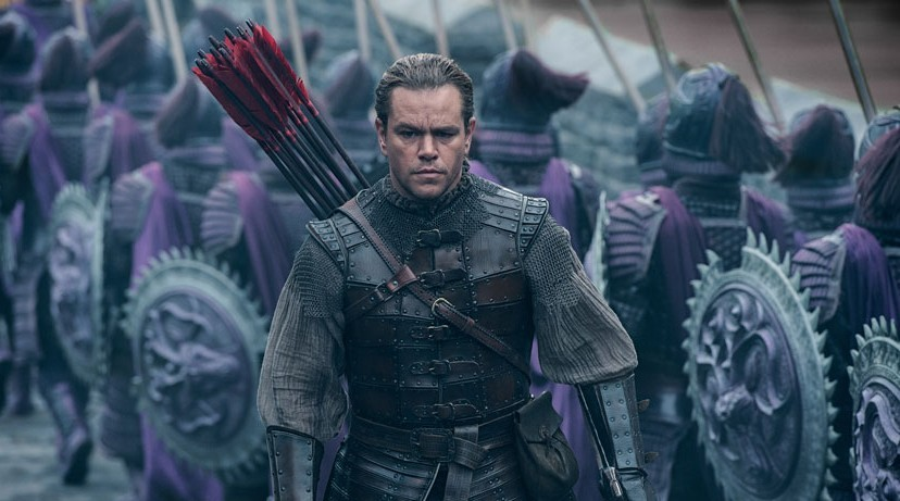 Tráiler de La gran muralla con Matt Damon