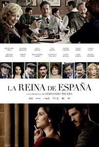 "Cartel de ""La reina de España"""