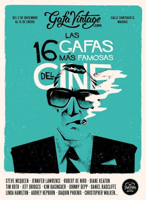 Especial las 16 gafas más famosas de la historia del cine