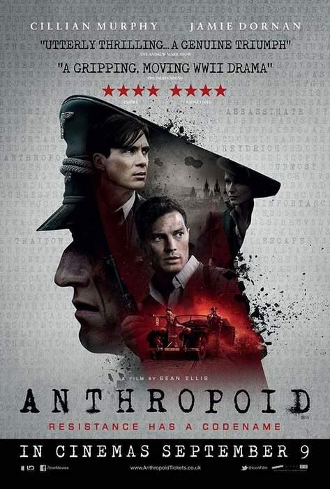 """Póster de """"Operación Anthropoid"""""""