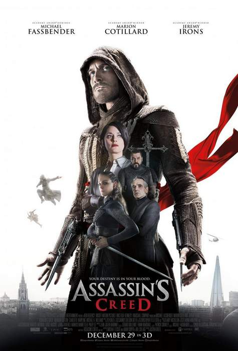 "Póster y Crítica de ""Assassin's Creed"""