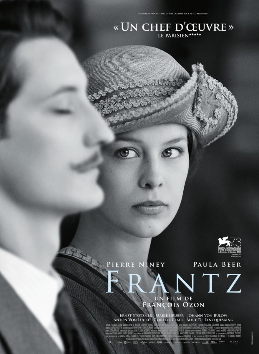 """Póster y crítica de """"Frantz"""""""