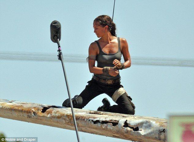 """Tomb Raider"", la nueva lara Croft"