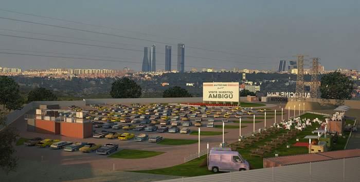 www.autocinesmadrid.es Auto cines Madrid RACE