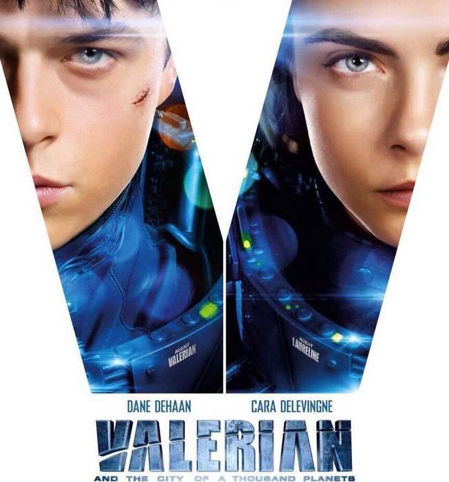 Tráiler de Valerian y la ciudad de los mil planetas