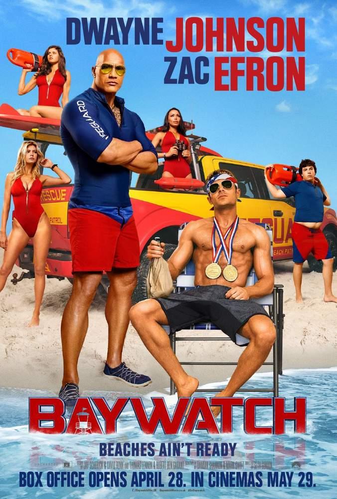 Póster de Baywatch: Los vigilantes de la playa