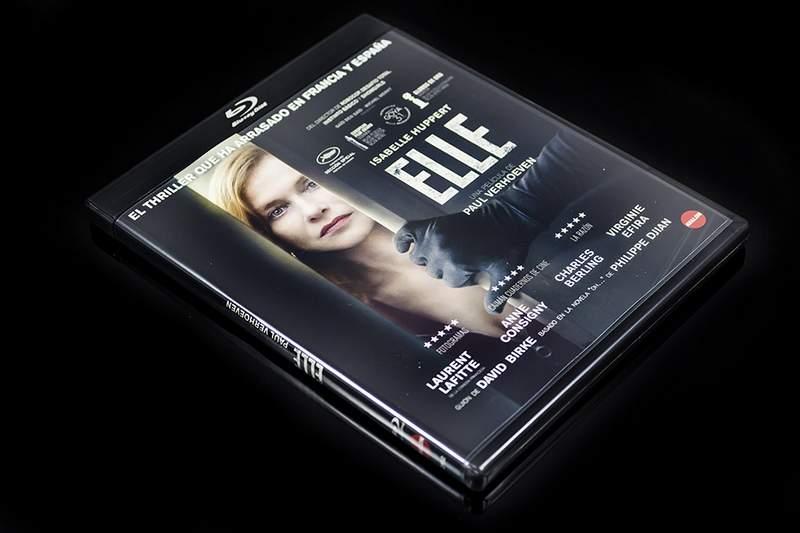 Blu-ray de Elle de Paul Verhoeven