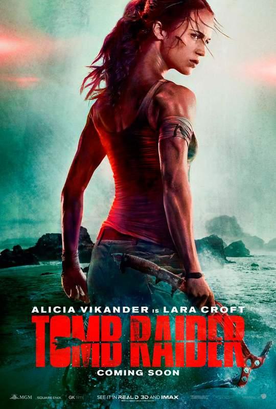 Nueva Lara Croft. Tráiler de Tomb Raider